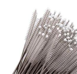 accessori abrasivi Sconti Spazzola di aspirazione in acciaio inox Accessori per la cucina Biberon Eco Friendly Trumpet Straw Scrub Utensili per la casa non tossici 0 29xq jj