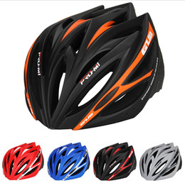 Wholesale bike helmet red - GUB M1 Ultralight 21 vents Cycling MTB Mountain Road Bicycle Bike Helmet Women Men Integrally-molded Visor