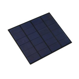 Wholesale solar systems for homes - 5Pcs Lot 3.5W 6V DIY Polycrystalline Solar Cell Panel PET+EVA Laminated Solar Cell Size 165mm*135mm for Solar System and Test