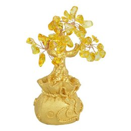 Chance d'arbre en Ligne-Feng Shui Cristal Arbre D'argent ornements Chanceux arbre Bonsaï Style Richesse Chance Feng Shui apporter Richesse Accueil Argent Arbre ornements
