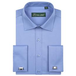 Chemises de ville à manches longues avec poche poitrine à manches longues Chemise de smoking à manches longues (boutons de manchette inclus) Y1892101 ? partir de fabricateur