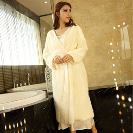 New Winter Women s Nightgown Velvet Long Robe Beige Sleepwear Princess  Nightgown lady Pyjama Robes Free Shipping affordable sexy winter nightgown  robe c453051df