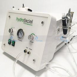 sauerstoff-spray schönheit maschine Rabatt Hydrafacial Hydro Dermabrasion Gesichts Maschine Diamant Microdermabrasion Sauerstoff Spray Schönheit Hautpflege Verjüngung Vakuum Schwarz Kopf Entfernung