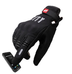 Telefingers Touch Screen Unisex Bike Gloves Bikeboy Blue