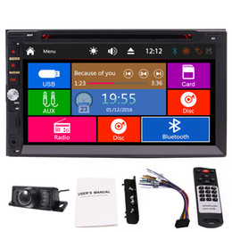 Wholesale Highest Cds - EinCar Car DVD Stereo In Dash Double 2Din Headunit 7'' Capacitive Touch Screen High Resolution support Bluetooth FM AM RDS AUX USB