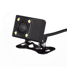 2019 rca mount 170 Degrés Universel Étanche Large Objectif 4 LED Vue Arrière De Voiture Caméra Aide au Parking Vision Nocturne, Ligne De Stationnement