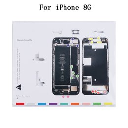 Wholesale Magnetic Iphone Tools - High Quality For iPhone 7 7G 8 8G Plus Magnetic Screw Mat For iPhone 5 5G 5S 6 6G 6S Plus Repair Tools