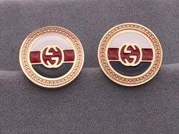 LU007 Nuovo design gioielli con diamanti Moda acciaio inossidabile 316L 18 carati placcato oro Orecchini per uomo e donna da involucro all'ingrosso regalo per le vacanze fornitori