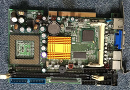 pci cpu card Desconto PCI PCI-815VE PCI half-CPU PCI815VE P3 placa-mãe G-kong