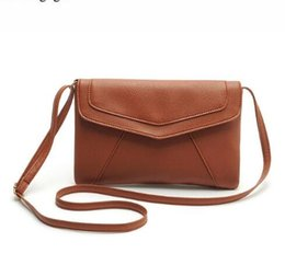 d1d3204f5679 PU leather Women Envelope Messenger bags Slim Crossbody Shoulder bags  Handbag Small Cross body Satchel Ladies Purses