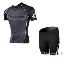 team cycle kit bib UK - New!2017 CUBE Pro Team Cycling Jersey bib Short set  Bib Shorts bycling bib short cycling clothes kits short set  short suit
