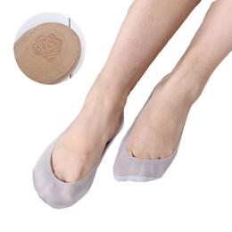 Summer women girl Silica Gel Boat Socks Antiscivolo Fodera invisibile No Show Pad Low Cut Ice Calze corte Anti-Slip Sock skarpetki da
