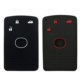 Protector remoto del llavero de la tarjeta de 3 botones Protector remoto del tenedor de entrada del keylee para Mazda 6 CX-7 CX-9 RX-8 MX5 desde fabricantes
