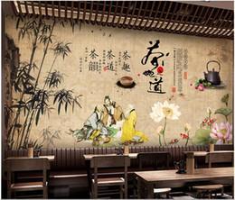 carta da parati rosa nera del fiore Sconti 3d wallpaper foto personalizzata Tradizionale tradizionale cerimonia del tè cultura del tè cerimonia sfondo murale carta da parati per pareti 3d soggiorno