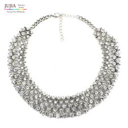 Wholesale New Middleton - whole sale2 color wholesale 2017 New Kate Middleton necklace fashion luxury choker crystal pendant necklace statement jewelry