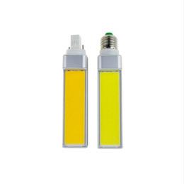 Wholesale E27 7w Cob Corn - New LED Bulbs 7W 9W 12W E27 G24 G23 220V 110V LED Corn Bulb Lamp Light COB Spotlight AC85-265V Horizontal Plug Light