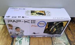 Nes jogos mp5 on-line-Presente de natal para Crianças PAP-KIII 16G clássico Handheld consola de jogos FC SFC NES GBA CP1 PAP MP5 PlayStation