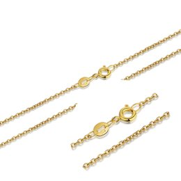 Collares de lana online-Gold cross necklace O word chain wholesale wool Korean version of the direct selling accessories simple