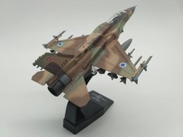 f16 Promo Codes - New 1 72 Scale ISRAEL 2015 F-16I Block-52 Airplane Alloy Falcon Aircraft Fighter F16 Model For Kids Gifts Toys Collections