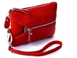 Браслет из натуральной кожи онлайн-Promotion!Multifunctional Wristlet/Clutch/Mobile Phone Bags Key Bags Genuine Leather Clutch Bag Purse bolsos 059