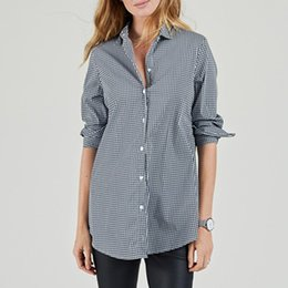 d8274f55ed3 long button down shirts for women Sconti 2018 Autunno Donna Top Camicie  scozzesi Manica lunga Abbassarsi