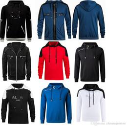 Wholesale Designer Bas - 2018 famous luxury Paris brand Ba designer sleeveless printed MAIN hoodies and sweatshirt slim fit for men with hat red black white M-XXL