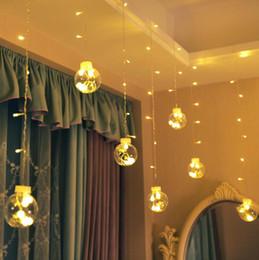 2019 luzes da internet New Internet celebridade desejo bola LED brilhando novo festival flash com luzes noite mercado 3m 12 luzes luzes da internet barato