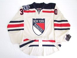 1e0f1188d Cheap custom LUNDQVIST NEW YORK RANGERS 2012 WINTER CLASSIC JERSEY stitch  add any number any name Mens Hockey Jersey XS-5XL