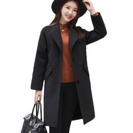 2019 abrigo de lana rosa con volantes 2018 Moda abrigo de mujer abrigo de las mujeres abrigo femenino hembra medio-largo primavera otoño invierno prendas de vestir exteriores de lana de mezcla delgada