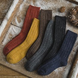 63b33f62a Autumn New Designs Double Needle Cotton Boots Socks Fashion Leg Warmmers  for Girls Women free Shipping