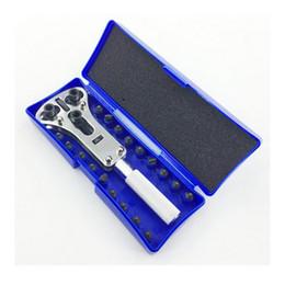 Wholesale waterproof watch case opener - Wholesale Watch Repair Tools 3 Jaws Adjustable Universal Watch Back Case Opener,Stainless Steel Waterproof Screw Opener