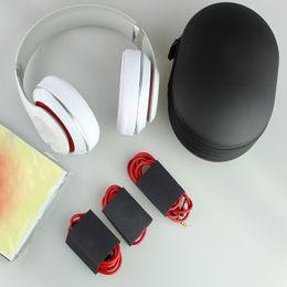 Wholesale Blue White Headband - TOP AAAAA 2.0 Wireless Headphones Noise Cancel Bluetooth Headphones Headset with seal retail box Free DHL