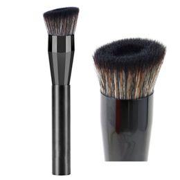 Base cosmética on-line-Aperfeiçoamento rosto maquiagem pincel base líquida base de Primer Creme Make Up Brushes Polimento Mistura Cosméticos Beleza Ferramenta