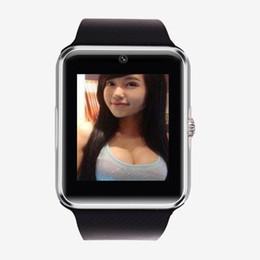tarjeta sim utilizada Rebajas Reloj inteligente GT08 para reloj de pulsera de hombre y mujer SmartWatch de Smart Electronics puede usar tarjeta SIM SIM para cámara PK Y1