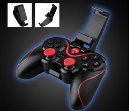 juegos de controladores inalámbricos Rebajas HOTTEST Nuevo juego de teléfono móvil Bluetooth inalámbrico controlador de juegos S5 compatible con iOS / Android teléfono no T3 + S3 S600 envío gratis