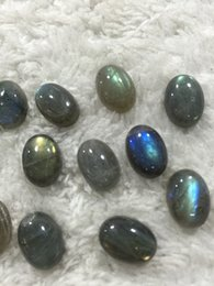 Wholesale Oval Natural Gemstone Beads - Natural Gemstone Elongated Fashionable Gem Wholesale Jewelry Gift Elongated Beads Stones Newest Oval Flashstone Natural Gemstones