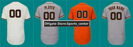 Wholesale Free San Francisco - San Francisco Mens Custom Stitiched Baseball Jerseys with patch free shipping