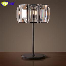 2019 base all'ingrosso di cristallo chiara vendita all'ingrosso lampada da tavolo moderna in cristallo lampada da tavolo luce di base in marmo lampada da lustro a led per soggiorno camera da letto studio camera sconti base all'ingrosso di cristallo chiara