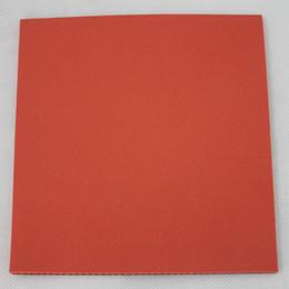 Argentina Con el pastel rojo esponja tenis de mesa cubierta de raqueta de goma caucho pingpang supplier table tennis sponges Suministro