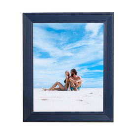 Wholesale Wholesale Wooden Picture Frames - Blue Photo Frames Online Various Sizes MiNi Wooden Picture Frames Cheap With High Quality Rectangle Vintage Picture