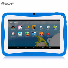 zoll kinder tablette pc android Rabatt 7-Zoll-Kinder Tablet PC Edition Tablet PC Google entsperrt Android 4.4 8 GB WiFi Kinder Geschenk Baby Tab
