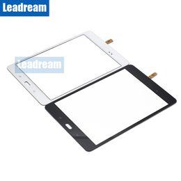 Argentina 50 unids pantalla táctil digitalizador lente de cristal Tablet PC pantalla con cinta para Samsung Galaxy Tab A 8.0 T350 envío gratis cheap tablet pc free shipping Suministro