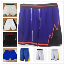 Wholesale Elite S - 2018 New Men Elite Basketball pants Tatum Kawhi Leonard Ben Simmons Kristaps Porzingis Irving pants shorts