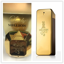 Wholesale perfume lady - 2018 Brand New Men & Women Perfume 1 MILLION Or Lady 100ML High Fragrance Long-lasting free shipping