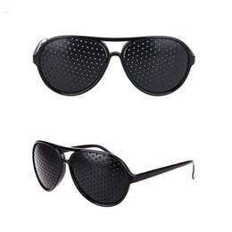 2019 солнцезащитные очки с отверстиями Высокое качество обскура солнцезащитные очки сплошной цвет черный прохладный уход видение улучшитель анти усталость мода ретро солнцезащитные очки 1 8zw чч дешево солнцезащитные очки с отверстиями