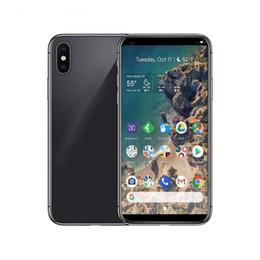 2019 smartphone en acier inoxydable Goophone IX réel 5.8 pouces 18: 9 Smartphone Quad Core MTK6580 1 G / 8 G 3G WCDMA GPS spectacle 4G LTE 256G8