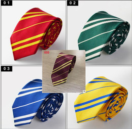 2019 harry potter ropa Harry Potter Tie Gryffindor Serie Tie Tie Accesorios de vestir Borboleta Corbata College Style Tie Gift 5 design KKA5787 harry potter ropa baratos