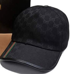 Wholesale Hat Fall - 2018 brand design 100% Cotton Luxury Caps Embroidery Fashion hats for men casual bone snapback baseball cap women visor gorras casquette hat