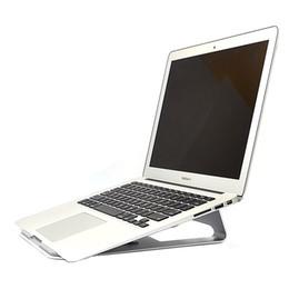 Wholesale flat laptop - Fashion aluminum flat-panel computer bracket flat bracket cooling base for 13.3 inch YEPO 737S Ultrabook Laptop