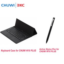 Игровые стенды онлайн-For CHUWI HI10 PLUS PU Leather Keyboard Case Magnetic Docking With Foldable Stand Function Ideal for Playing Games